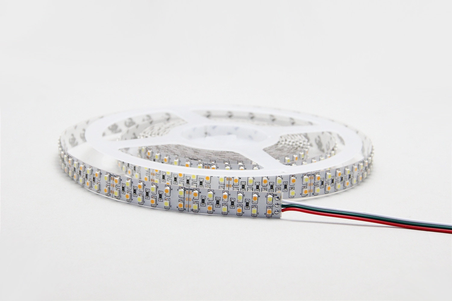 about 3528 240 led w ww double color led strips